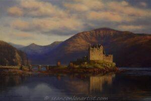 Towards Evening,Eilean Donan